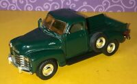 Chevrolet ❤️ C3100 Green Pick Up Truck 1:43 Preowned Diecast Free Ship