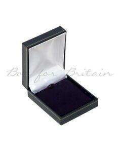 Leatherette Pendant Box BLUE,10X Pendant Chain box,Wholesale price £18.80