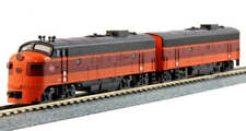 Kato N Scale FP7A FP7B Locomotive Set MILW #95A/95B DC DCC Ready 1060430