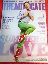 THE ADVOCATE MAGAZINE JUNE JULY 2013 JESSE TYLER FERGUSON MARRIAGE EQUALITY