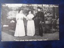 Married To The Wrong  Man   - Music Hall Theatrical History Radio Film
