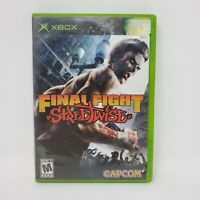 Final Fight: Streetwise (Microsoft Xbox) Complete with Manual Tested Works CIB