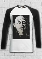 Nosferatu The Vampire Retro Men Women Long Short Sleeve Baseball T Shirt 2353