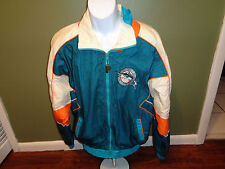 VINTAGE Pro Player Florida Marlins MIAMI  Teal Jacket Windbreaker Adult LARGE