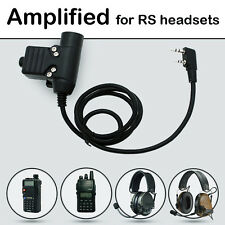 Nexus U94 PTT AMPLIFIED version for REAL STEAL headset
