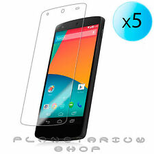 5x PROTECTOR OF SCREEN ULTRA-TRANSPARENT FOR LG NEXUS 5 CLEAR 16 32 GB LCD