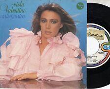 VIOLA VALENTINO disco 45 g. STAMPA ITALIANA Sanremo 1983 Arriva arriva + Balere