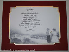 Personalized LOVE Poem GIFT  The PERFECT Valentine's Day Gift for HIM or HER