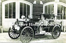 Highspire Historical Postcard - First Motorized Fire Truck 1914
