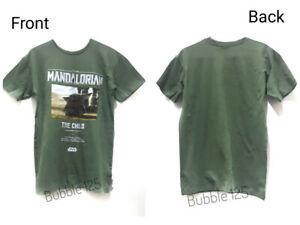 Disney Baby Yoda Boys Kids T- shirt Short Sleeve Tops/Tee