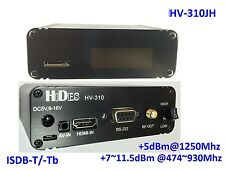 HV-310JH FPV FullHD Video Transmitter, HDMI/ CVBS to ISDB-T/-Tb modulator