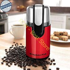 Blade Coffee Grinder Kitchenaid Empire Red Stainless Steel Bowl Kitchen R Spice