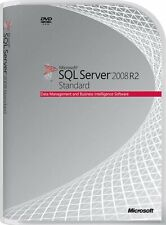 SQL Server 2008 R2 Standard Product Key License MS 4 Physical CPU Cores Genuine