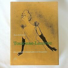 Henri de Toulouse Lautrec Complete Lithographs And Drypoints Jean Adhemar HB DJ