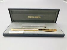VINTAGE PAPERMATE GOLD FOUNTAIN PEN  FP16