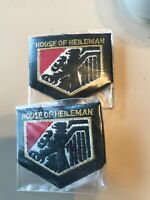 House of Heileman beer patches lot of 2