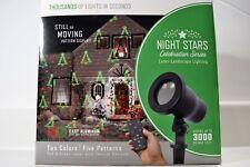 Night Stars Laser Landscape Lighting Two Colors 5 Patterns Celebration Series