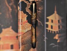 NAMIKI Emperor N°50 Pavilion (Pagoda) Fountain Pen 18K M Kyusai Yoshida