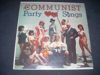 COMMUNIST PARTY SONGS cover only LP High-IN-Fidelity Records Joke Cover 1963