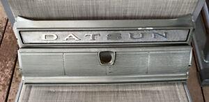 NISSAN-DATSUN 1970's CEDRIC 260C COUPE GENUINE 'DATSUN' REAR GARNISH BOOT PANEL!