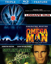 Soylent Green/Logan's Run/Omega Man (Blu-ray Disc, 2013, 3-Disc Set)