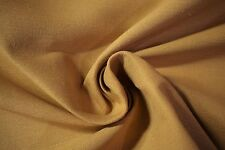 Cotton Linen Fabric Gold  Canvas Soft Organic Apparel 55
