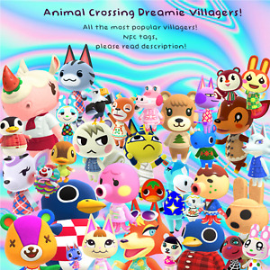 Animal Crossing Amiibo NFC Villager Cards New Horizons