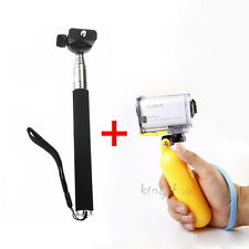 Floating Grip + Extended Monopod for Sony Action Cam HDR-AS15/AS20/AS30V/AS100V
