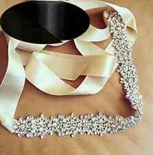 Crystal Belt Rhinestone Belt Pearls Sash Bridal Sash Wedding Sash Dress Sash