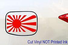 Rising Sun jdm japan Japanese flag decal Car skid drift Sticker 150mm