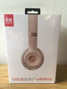 Casque Beats Solo3 Wireless - Or mat - Casque audio supra auriculaire sans fil