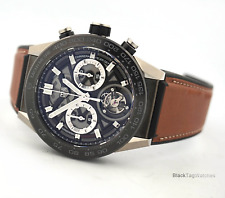 TAG Heuer 02 T COSC Tourbillon Boutique Edition Titanium CAR5A8Y.FT6072