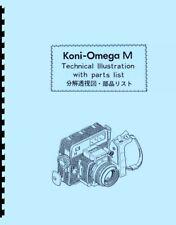 Koni-Omega Rapid M Parts Manual with Exploded Views (English & Japanese)