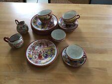 Chinesisches Teeservice Porzellan für 6 Personen 20teilig hauchdünn Topzustand