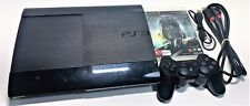 SONY PLAYSTATION 3 PS3 SUPER SLIM CONSOLE LOT | CECH-4002A | GAME, CONTROLLER