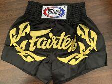 Fairtex Muay Thai Shorts Boxing Mma Muay Thai K1 New Size M Satin*On Sale*