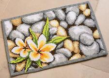 1x Cross Stitch Kit Rug Frangipani Sewing Craft Tool Hobby Art UK Bulk Filoro