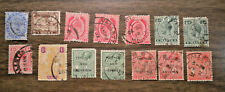 British Colony: Malta - # 11 to # 70 - from 1885 to 1930 - 14 stamps