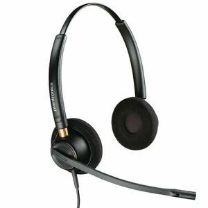 Plantronics EncorePro HW520 Noise-Cancelling  Headset - Black P/N: 89434-02