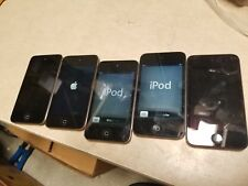 Lot of 5 Apple iPod Touch 4th Generation 8gb black as is #C21