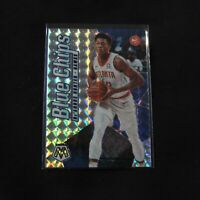 2019-20 De'Andre Hunter Rookie Card Blue Chips Mosaic Prizm Holo Atlanta Hawks