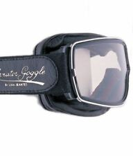 Aviator Pilot Goggles By Leon Jeantet T2 - Black / Chrome