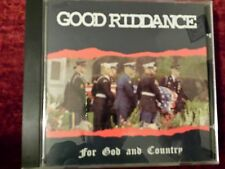 GOOD RIDDANCE - FOR GOD AND COUNTRY. CD