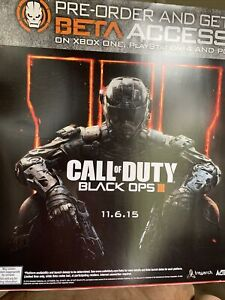 Call Of Duty Black Ops 3 GameStop Promo Poster