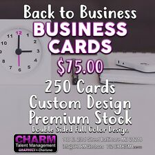 Back to Business Business Cards Special