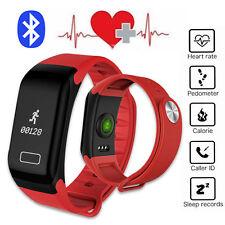 Bluetooth Smart Bracelet Fitness Tracker for Samsung S9 Plus S8 S7 S6 Huawei LG