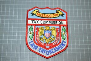 Mississippi Law Enforcement Tax Commission Patch (B17-V)
