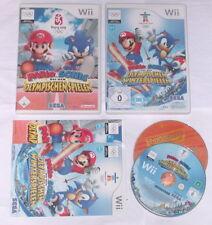 Spiele Set: MARIO & SONIC OLYMPISCHE SPIELE + WINTERSPIELE für Nintendo Wii