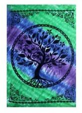 """58 x 82"""" Tree of Life Tie Dye Tapestry Wiccan Pagan Altar Supply #TP402"""