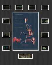 Unforgiven - Clint Eastwood 35mm Film Cell Display